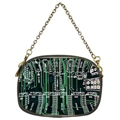Printed Circuit Board Circuits Chain Purses (one Side)
