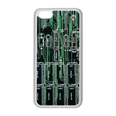 Printed Circuit Board Circuits Apple Iphone 5c Seamless Case (white)