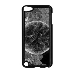 Space Universe Earth Rocket Apple Ipod Touch 5 Case (black)