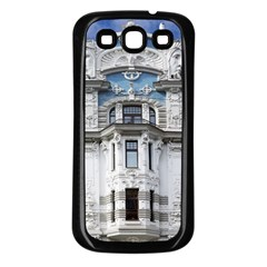 Squad Latvia Architecture Samsung Galaxy S3 Back Case (black)