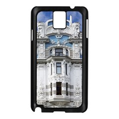 Squad Latvia Architecture Samsung Galaxy Note 3 N9005 Case (black)