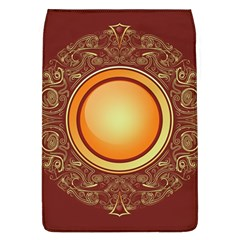 Badge Gilding Sun Red Oriental Flap Covers (l)