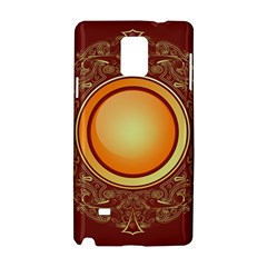 Badge Gilding Sun Red Oriental Samsung Galaxy Note 4 Hardshell Case