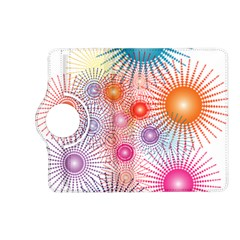 Stars Fireworks Colors Kindle Fire Hd (2013) Flip 360 Case