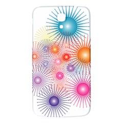 Stars Fireworks Colors Samsung Galaxy Mega I9200 Hardshell Back Case