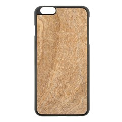 Rock Tile Marble Structure Apple Iphone 6 Plus/6s Plus Black Enamel Case