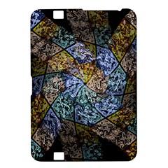 Multi Color Tile Twirl Octagon Kindle Fire Hd 8 9