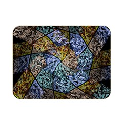 Multi Color Tile Twirl Octagon Double Sided Flano Blanket (mini)