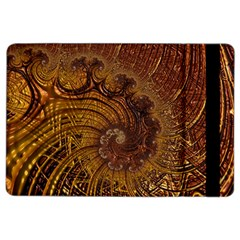 Copper Caramel Swirls Abstract Art Ipad Air 2 Flip