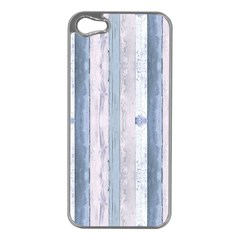 Plank Pattern Image Organization Apple Iphone 5 Case (silver)