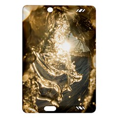 Gold Sea Coast Waves Depier Amazon Kindle Fire Hd (2013) Hardshell Case
