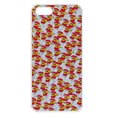 Chickens Animals Cruelty To Animals Apple Iphone 5 Seamless Case (white)