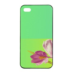 Background Homepage Blossom Bloom Apple Iphone 4/4s Seamless Case (black)