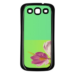 Background Homepage Blossom Bloom Samsung Galaxy S3 Back Case (black)
