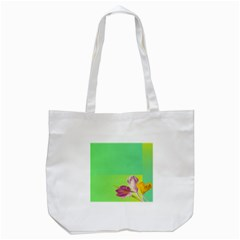 Background Homepage Blossom Bloom Tote Bag (white)