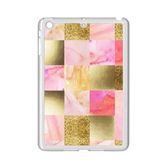 Collage Gold And Pink Ipad Mini 2 Enamel Coated Cases