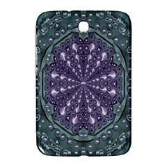 Star And Flower Mandala In Wonderful Colors Samsung Galaxy Note 8 0 N5100 Hardshell Case