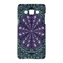 Star And Flower Mandala In Wonderful Colors Samsung Galaxy A5 Hardshell Case