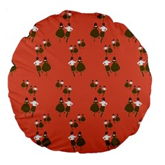 Dance Large 18  Premium Round Cushions
