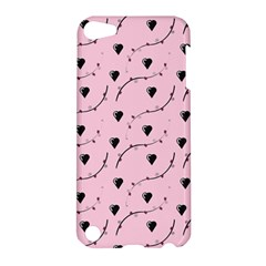 Love Hearth Pink Pattern Apple Ipod Touch 5 Hardshell Case