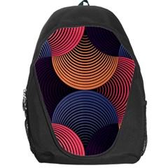 Geometric Swirls Backpack Bag