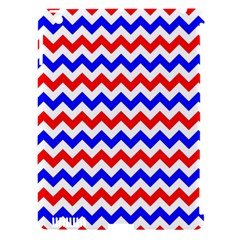 Zig Zag Pattern Apple Ipad 3/4 Hardshell Case (compatible With Smart Cover)