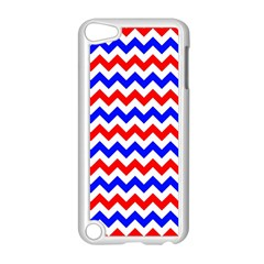 Zig Zag Pattern Apple Ipod Touch 5 Case (white)
