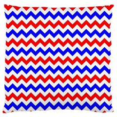 Zig Zag Pattern Standard Flano Cushion Case (two Sides)