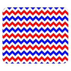 Zig Zag Pattern Double Sided Flano Blanket (small)