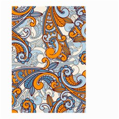 Paisley Pattern Small Garden Flag (two Sides)