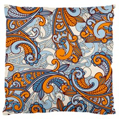 Paisley Pattern Standard Flano Cushion Case (one Side)