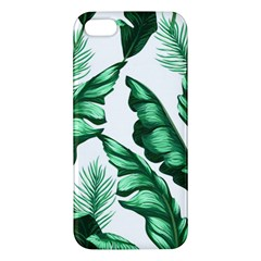 Banana Leaves And Fruit Isolated With Four Pattern Iphone 5s/ Se Premium Hardshell Case