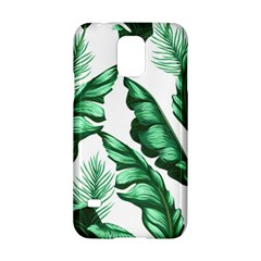 Banana Leaves And Fruit Isolated With Four Pattern Samsung Galaxy S5 Hardshell Case