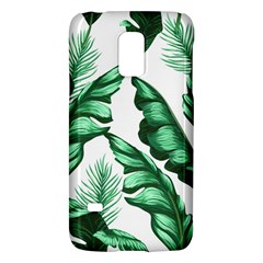 Banana Leaves And Fruit Isolated With Four Pattern Galaxy S5 Mini