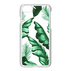 Banana Leaves And Fruit Isolated With Four Pattern Apple Iphone 8 Seamless Case (white)