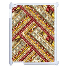 Ethnic Pattern Styles Art Backgrounds Vector Apple Ipad 2 Case (white)