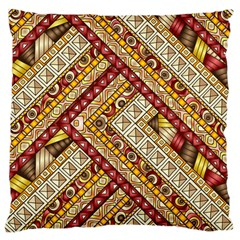 Ethnic Pattern Styles Art Backgrounds Vector Standard Flano Cushion Case (two Sides)