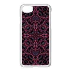 Modern Ornate Pattern Apple Iphone 7 Seamless Case (white)