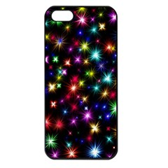 Fireworks Rocket New Year S Day Apple Iphone 5 Seamless Case (black)