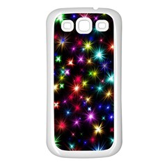 Fireworks Rocket New Year S Day Samsung Galaxy S3 Back Case (white)