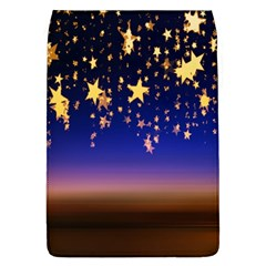 Christmas Background Star Curtain Flap Covers (l)