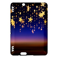 Christmas Background Star Curtain Kindle Fire Hdx Hardshell Case