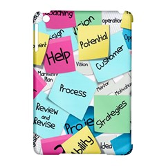 Stickies Post It List Business Apple Ipad Mini Hardshell Case (compatible With Smart Cover)