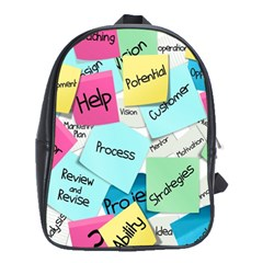 Stickies Post It List Business School Bag (xl)