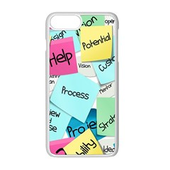 Stickies Post It List Business Apple Iphone 8 Plus Seamless Case (white)