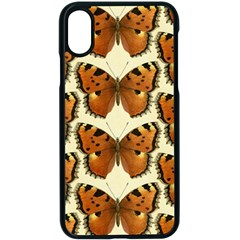 Butterfly Butterflies Insects Apple Iphone X Seamless Case (black)