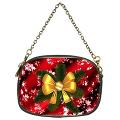 Christmas Star Winter Celebration Chain Purses (one Side)
