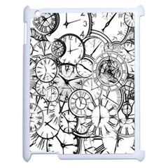 Time Clock Watches Time Of Apple Ipad 2 Case (white)