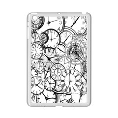 Time Clock Watches Time Of Ipad Mini 2 Enamel Coated Cases