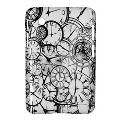 Time Clock Watches Time Of Samsung Galaxy Tab 2 (7 ) P3100 Hardshell Case
